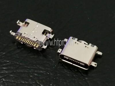 Cổng USB3.1 Type C 16Pin Đầu Cái 0.8MM