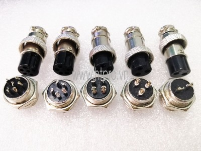 GX16-10Pin Đầu GX16 10 Chân Đực Cái