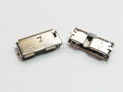 Micro USB 3.0 Cái SMD Connector