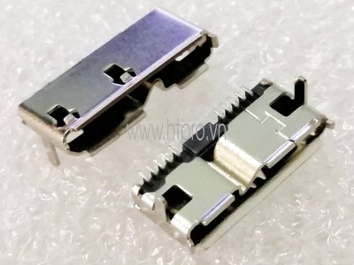 Micro USB 3.0 Cái DIP Connector
