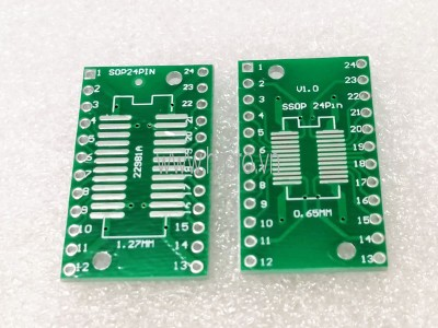 PCB Chuyển Đổi SOP24 SSOP24 Sang DIP24