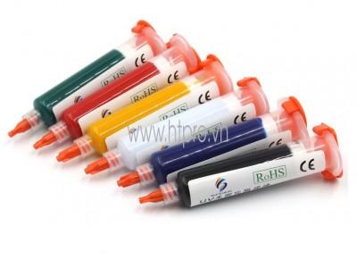 Mực UV Phủ Mạch PCB Màu Trắng 10cc
