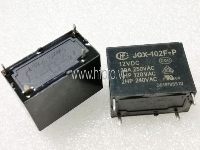 Relay JQX-102F-P-12VDC 20A 250V 4 Chân