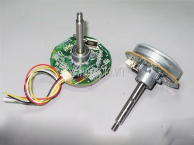 Động Cơ BLDC 24V Loại 4 Dây Trục 1 Đầu