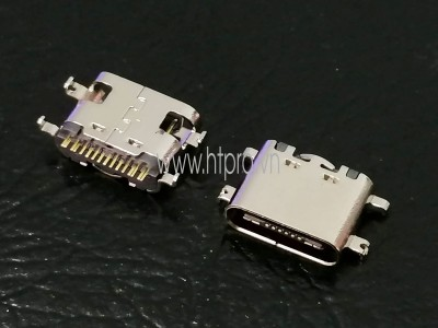 Cổng USB3.1 TypeC 16Pin Đầu Cái 1.6MM