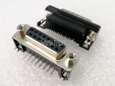 Connector DB15 Female Nằm Ngang Hàn PCB