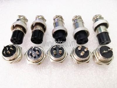 GX16-8Pin Đầu GX16 8 Chân Đực Cái