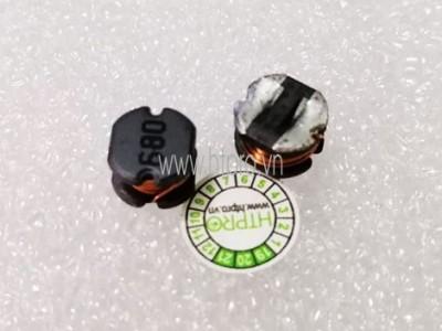 Cuộn Cảm 68uH CD75 SMD 680
