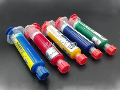Mực UV Phủ Mạch PCB Mechanic Màu Vàng 10mL